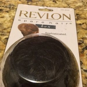 Revlon Dark Brown spare Hair Bun NEW Easy Fun Hair